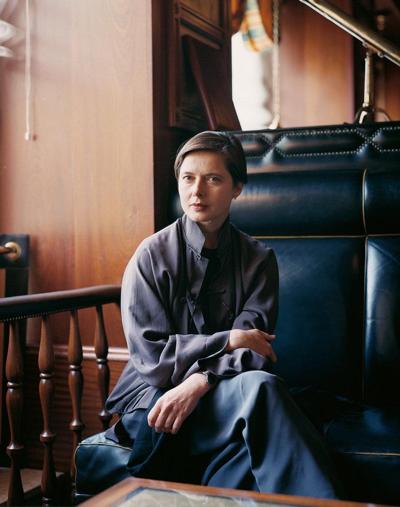 Isabella Rosselini Düsseldorf 2002