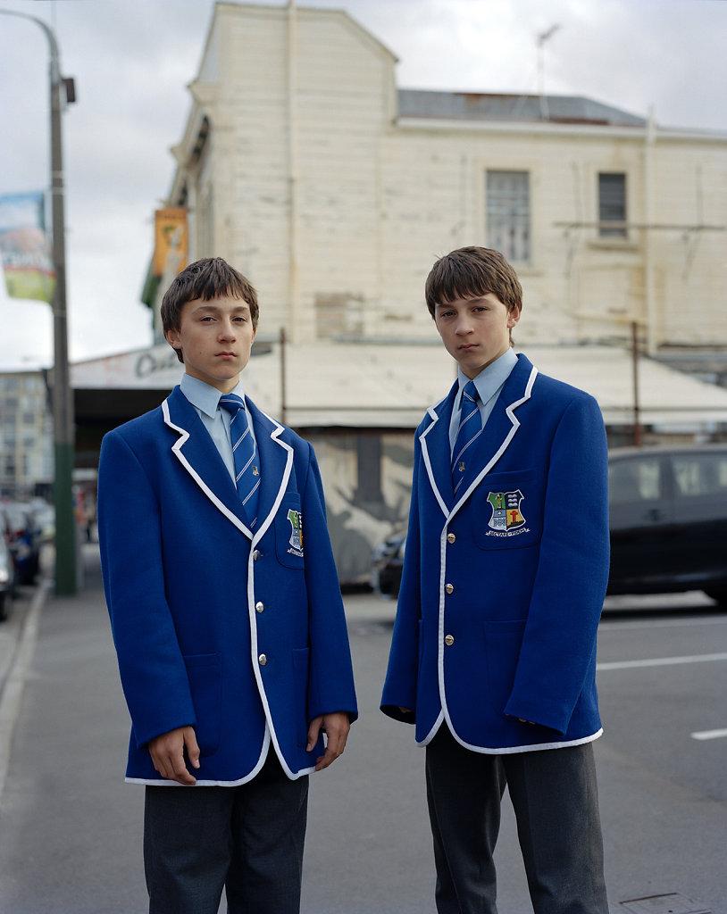 Twins Cuba Street Wellington 2009