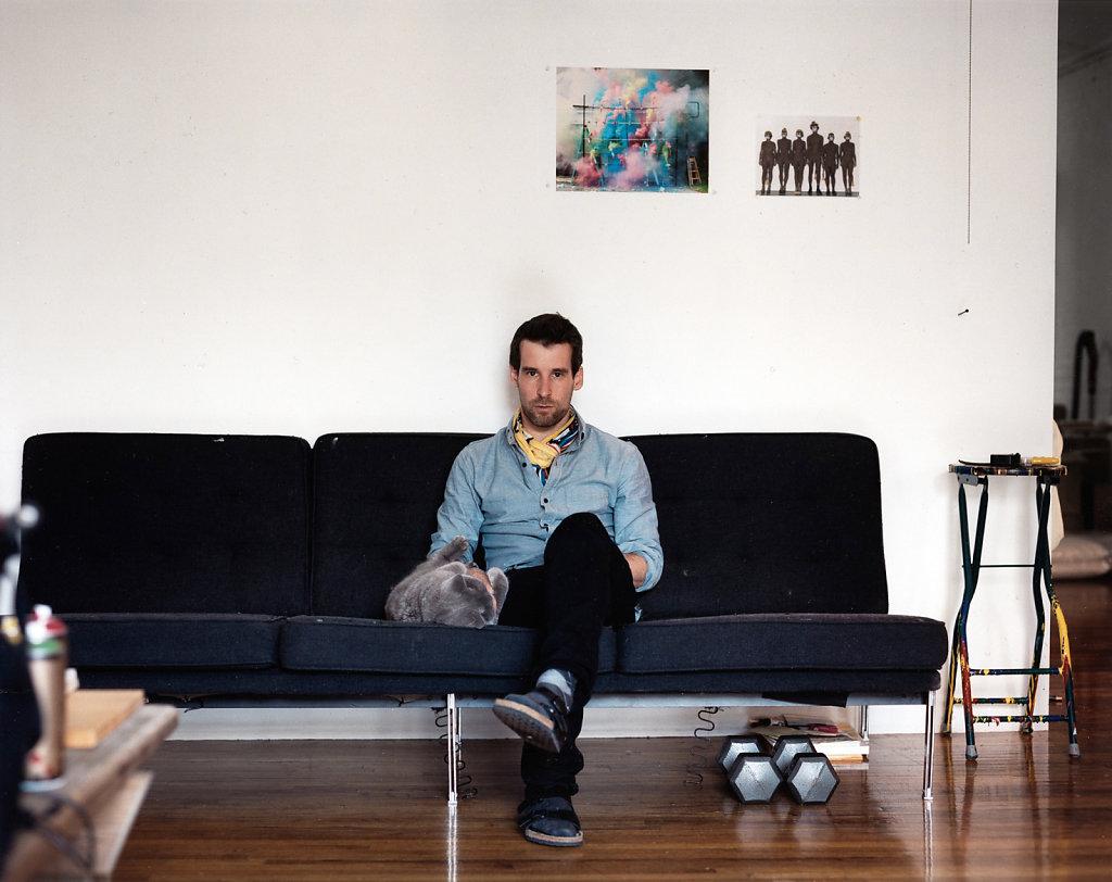 Olaf Breuning New York 2011