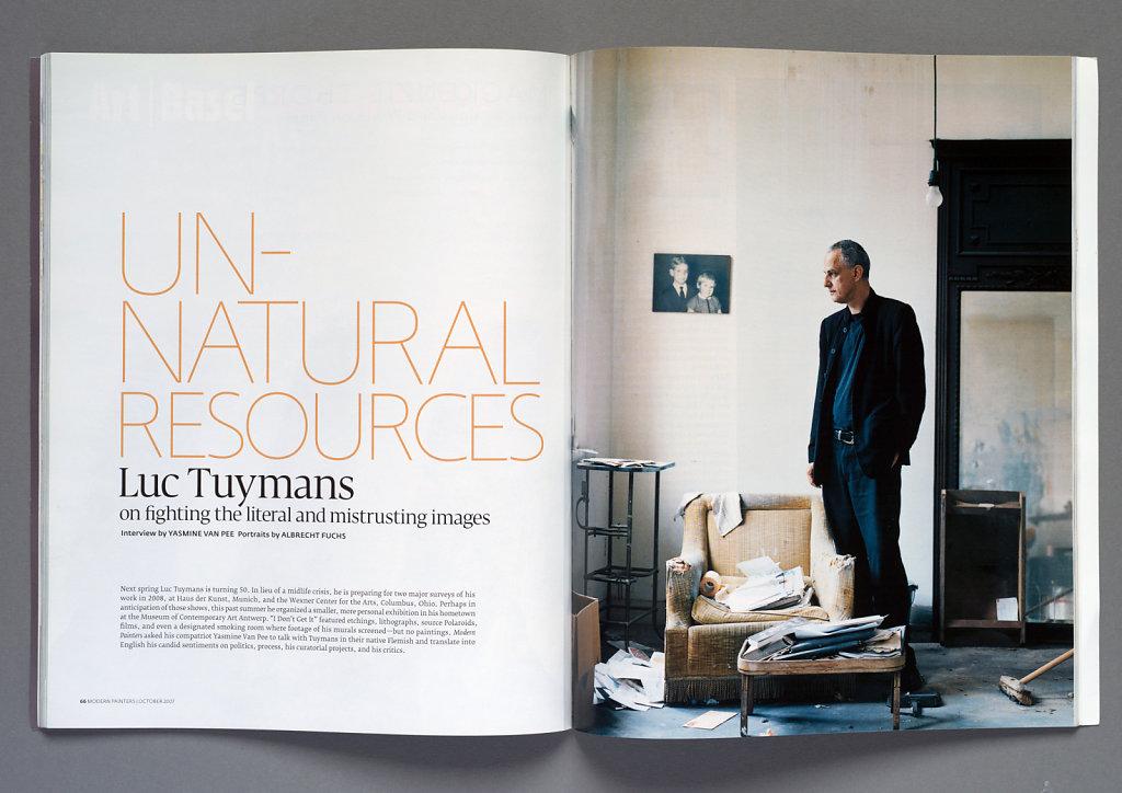 Modern Painters Luc Tuymans Antverpen 2007