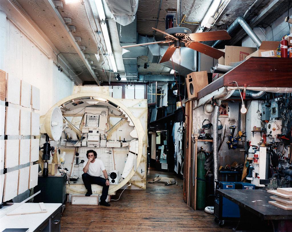 Zeit Magazin Tom Sachs New York 2007