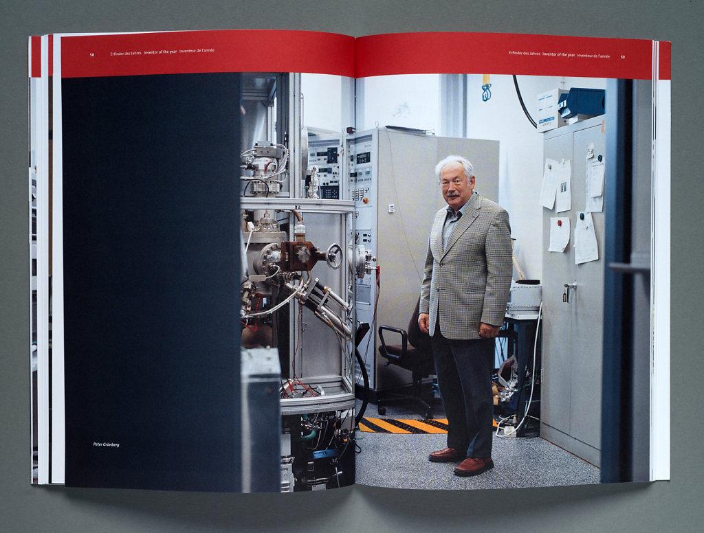 European Patent Office Annual Report 2005 (Peter Grünberg)