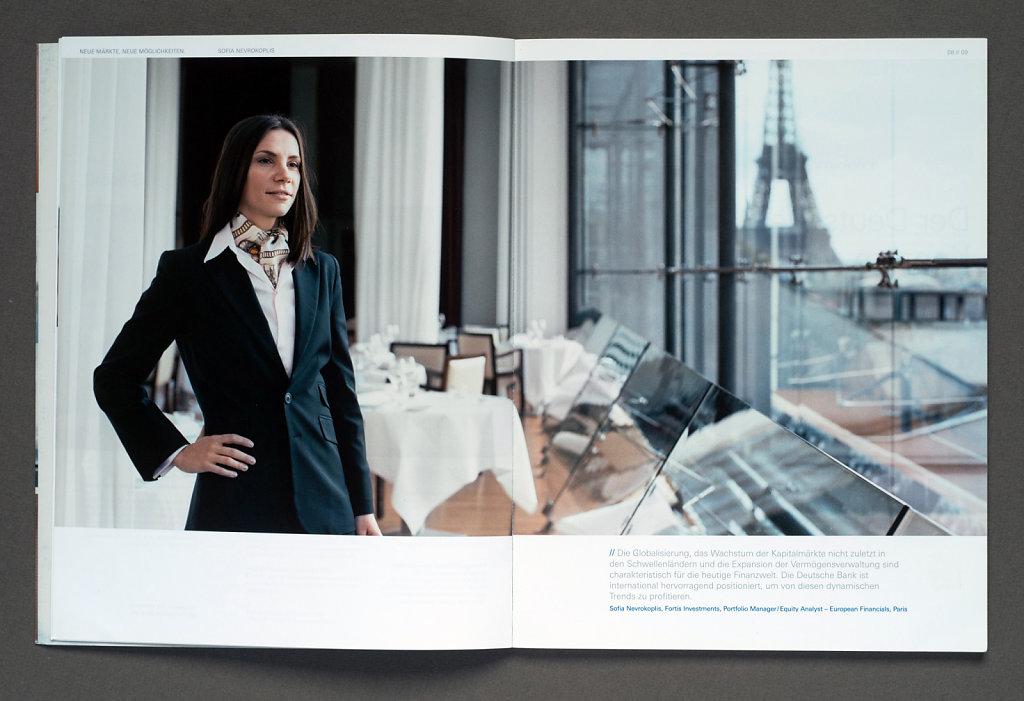 Deutsche Bank Annual Report 2006 (Sofia Nevrokoplis, Paris)