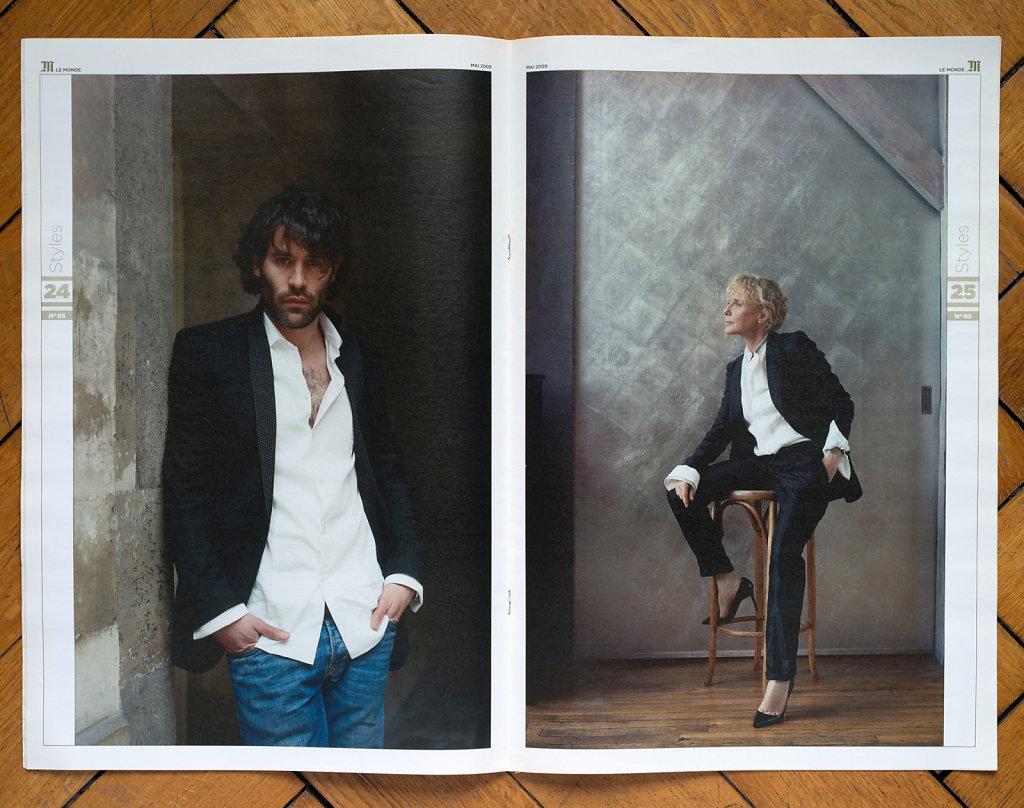 Le Monde M 2009 (Jalil Lespert, Claire Denis)