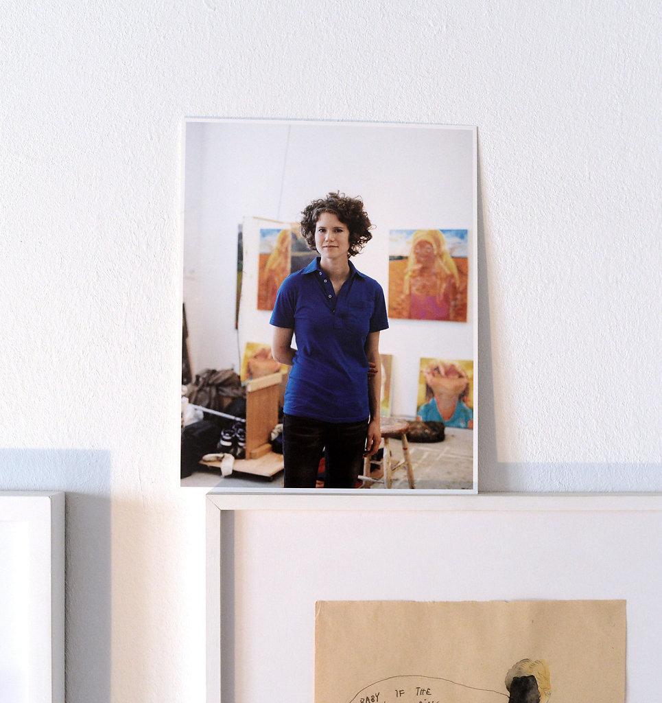 Dana Schutz New York 2005 (Invitation Card CFA)
