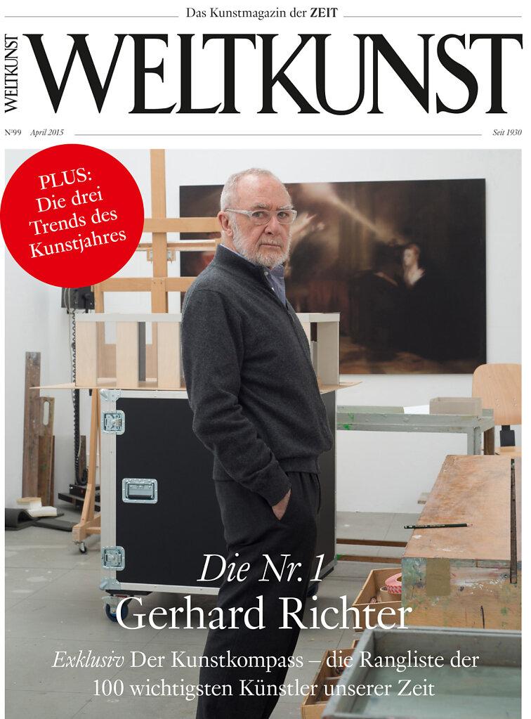 Weltkunst April 2015