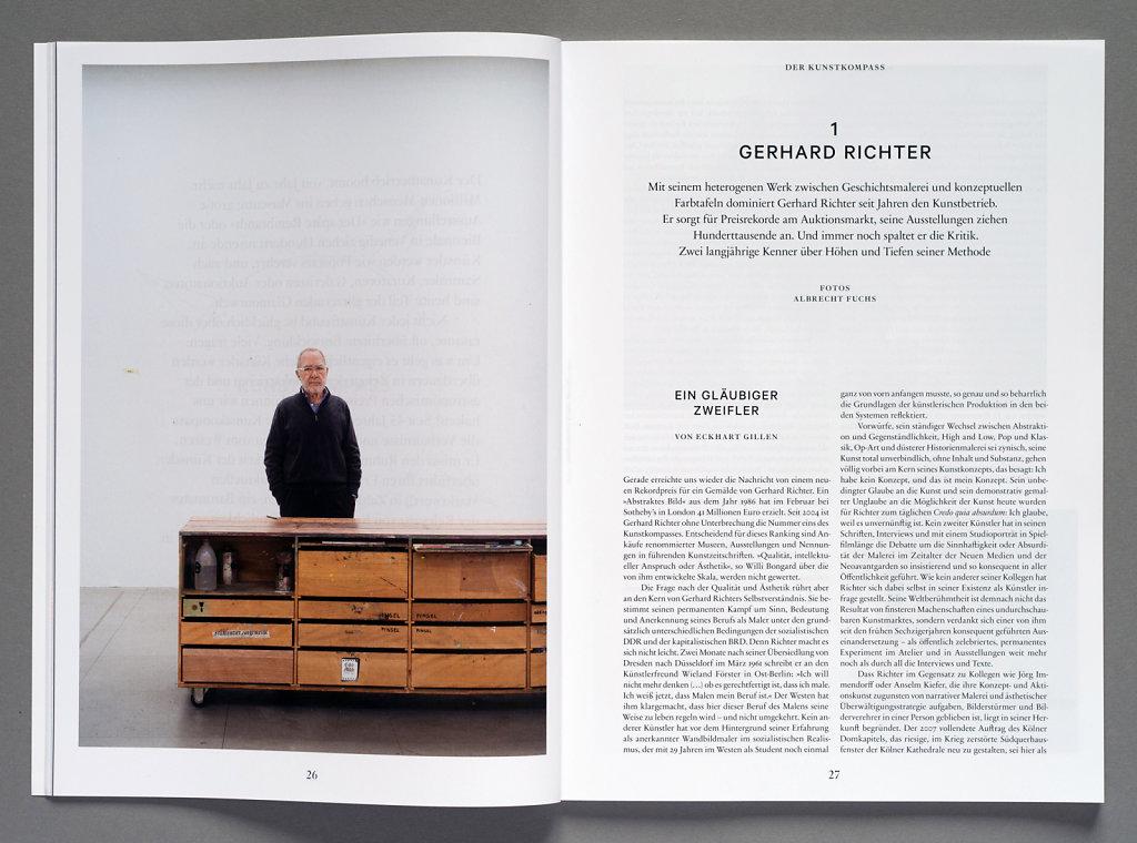 Weltkunst Gerhard Richter Köln 2015