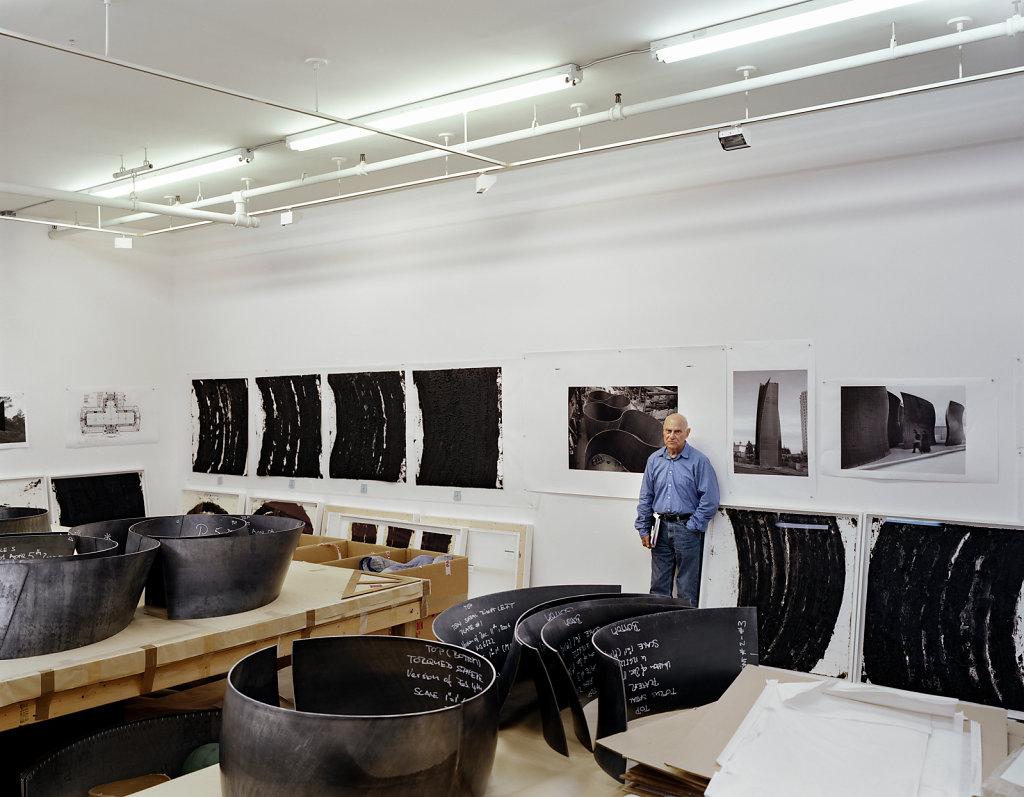 Zeit Magazin Richard Serra New York 2007