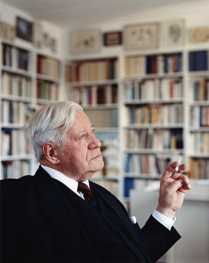 SZ Magazin Helmut Schmidt Hamburg 2004