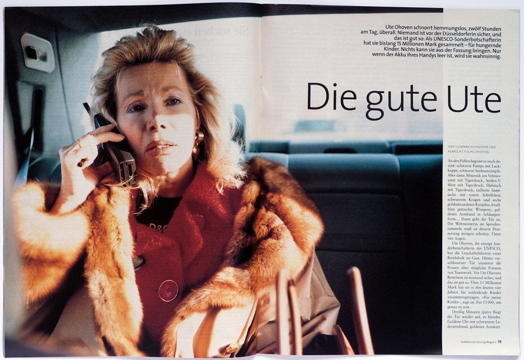 SZ Magazin Ute Ohoven 1998