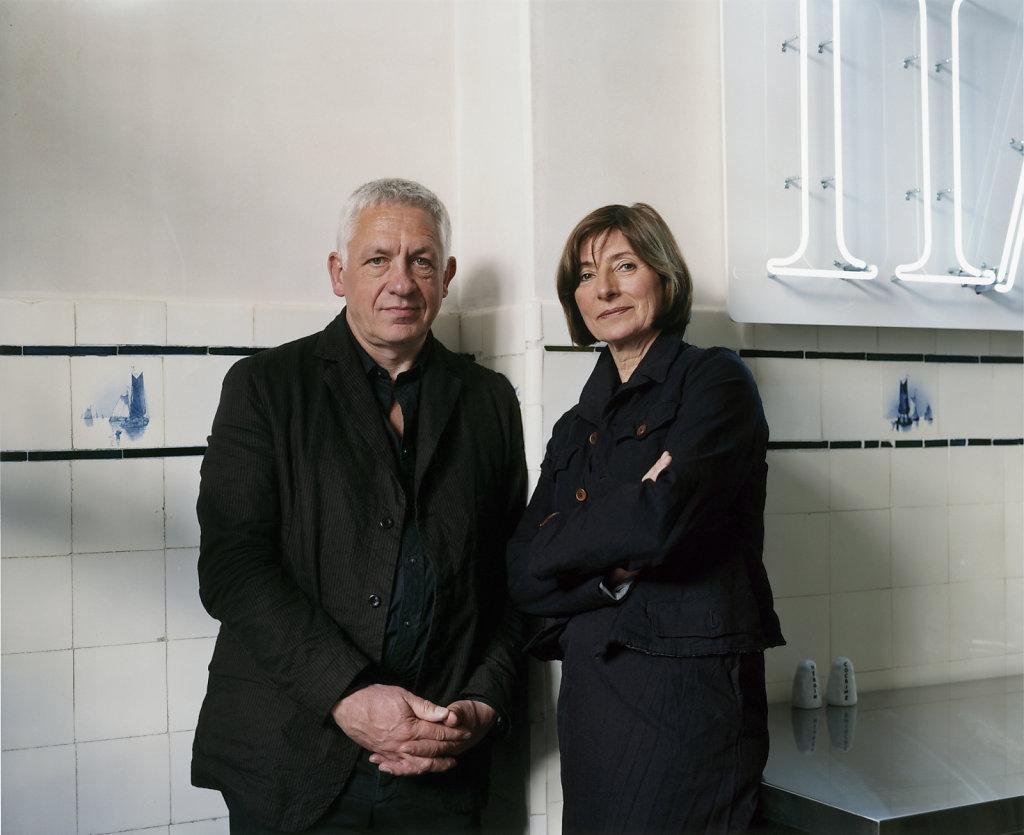 Axel und Barbara Haubrok Berlin 2007