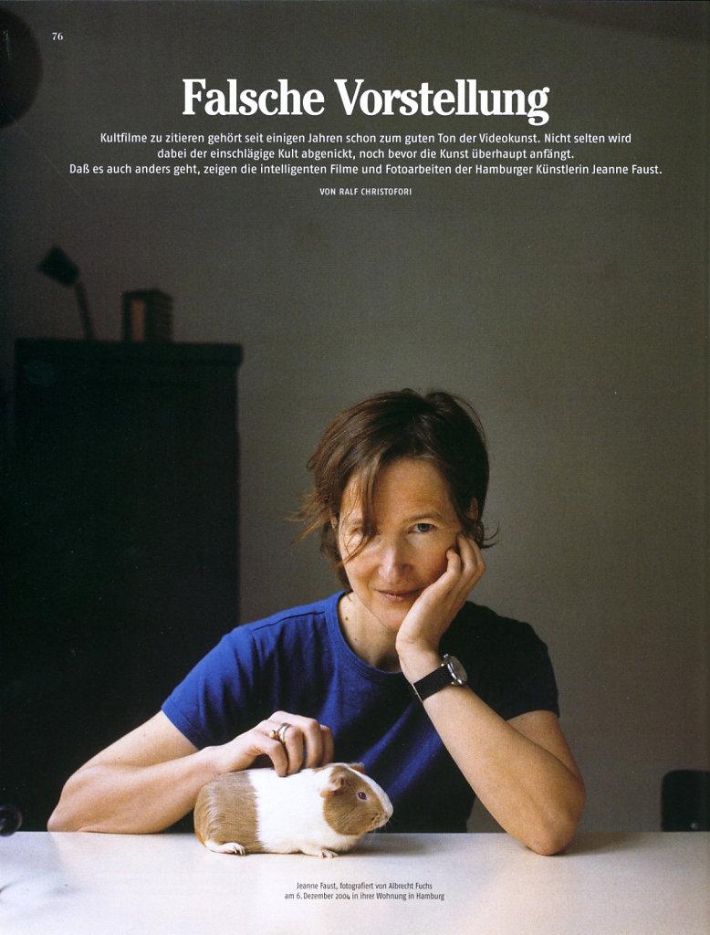 Monopol Jeanne Faust 2004
