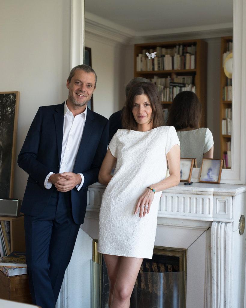 Emelie and Pierre Paris 2015