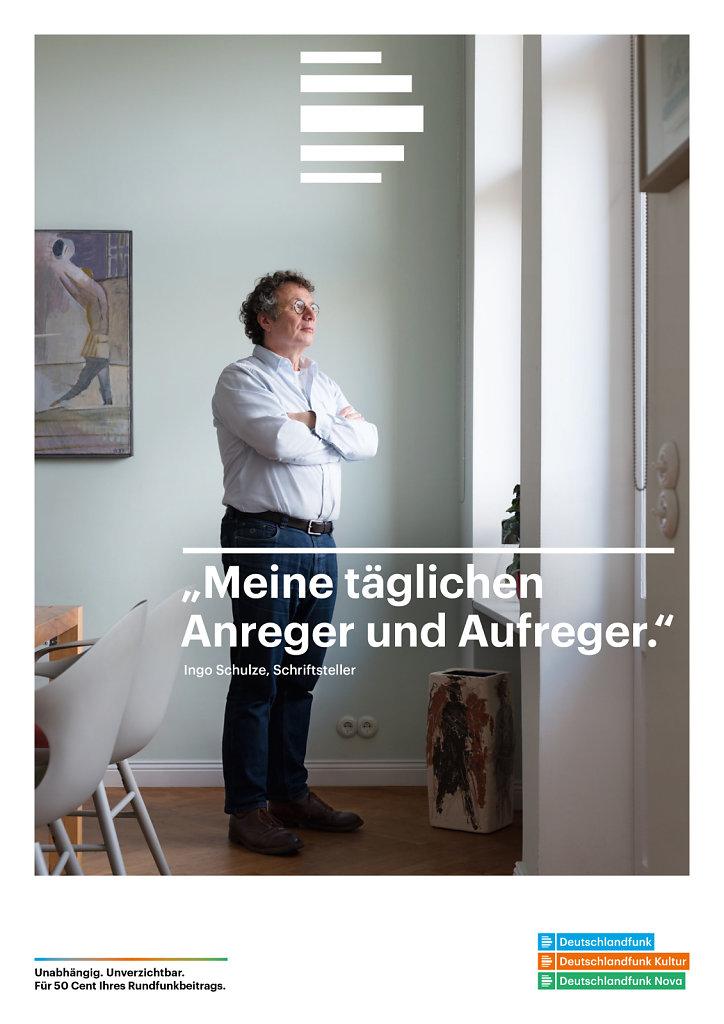 Ingo Schulze Berlin 2017 for Deutschlandfunk