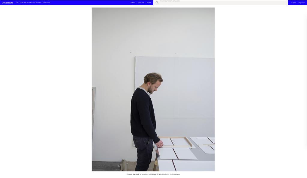 Collecteurs Atelier Thomas Wachholz Cologne 2018