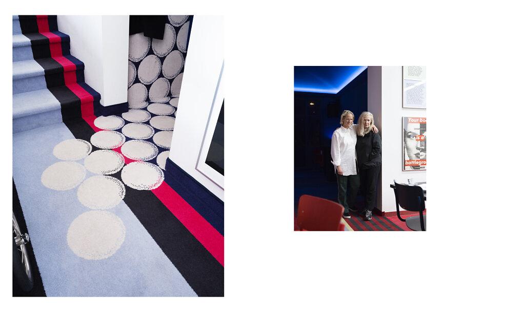 Salon Magazin Lido Restaurant Düsseldorf 2018 / redesigned by Rosemarie Trockel