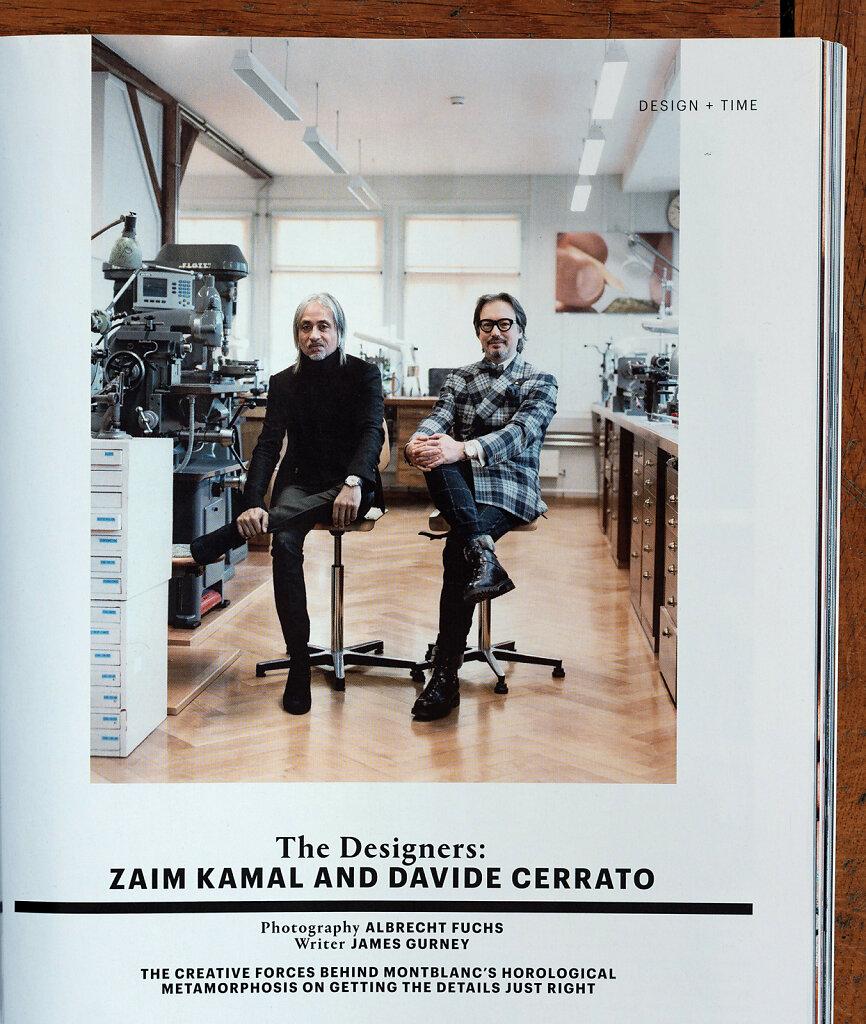 Wallpaper Montblanc - The Designers  Zaim Kamal and Davide Cerrato 2019
