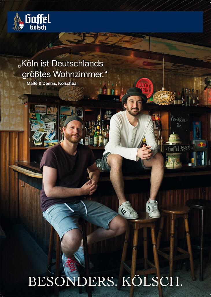 """Gaffel Kölsch (""""Kölschbar"""", Köln 2015)"""