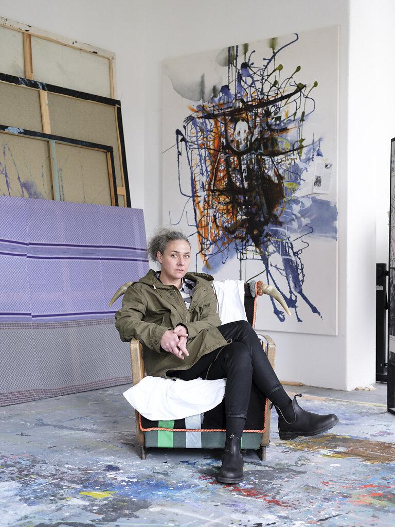 Artist Helga Schmidhuber for Monopol 2020